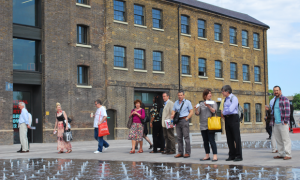 The Academy of Urbanism King's Cross Visit