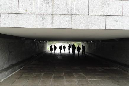Exploring Milton Keynes: Young Urbanists study trip