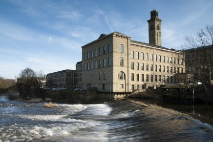 Saltaire's role in regeneration