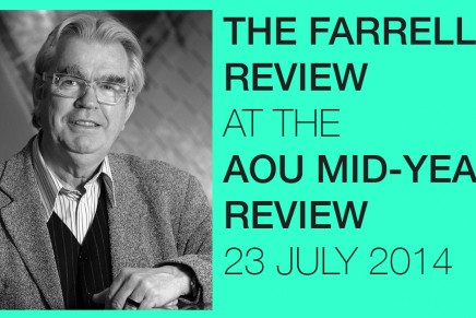 Special talk by Sir Terry Farrell on review of built environment – 23 July