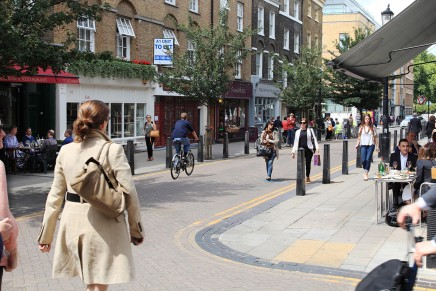 Lamb's Conduit Street and Starbuck's were never easy bedfellows