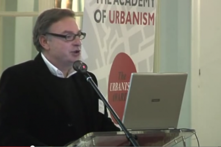 Video / Towards a New Urbanism: Charles Knevitt Introduction