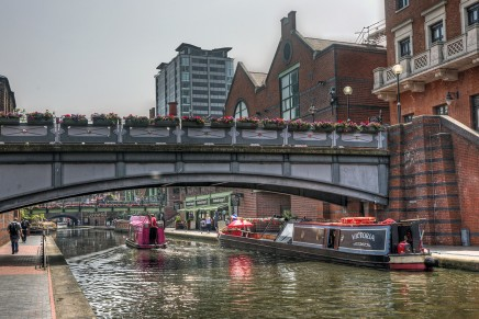 Congress / Visit to Icknield Port Loop and Brindley Place
