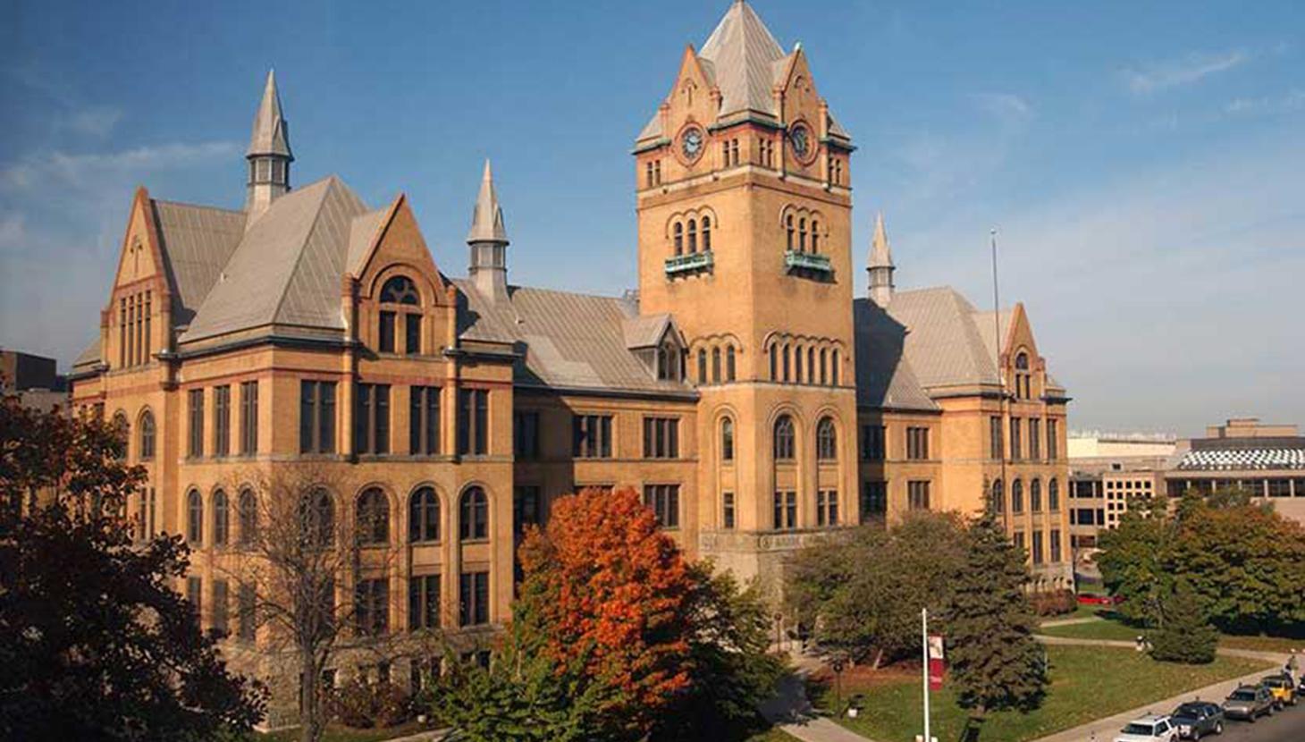 WSU's august 'Old Main' Building. ph. University Research Corridor