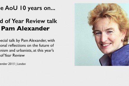 Event / End of Year Review w/ special talk by Pam Alexander