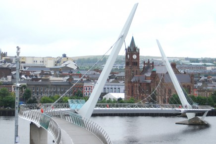 Peace Bridge/Ebrington Square | Derry~Londonderry