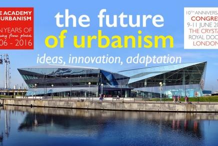 AoU Congress 2016: The Future of Urbanism