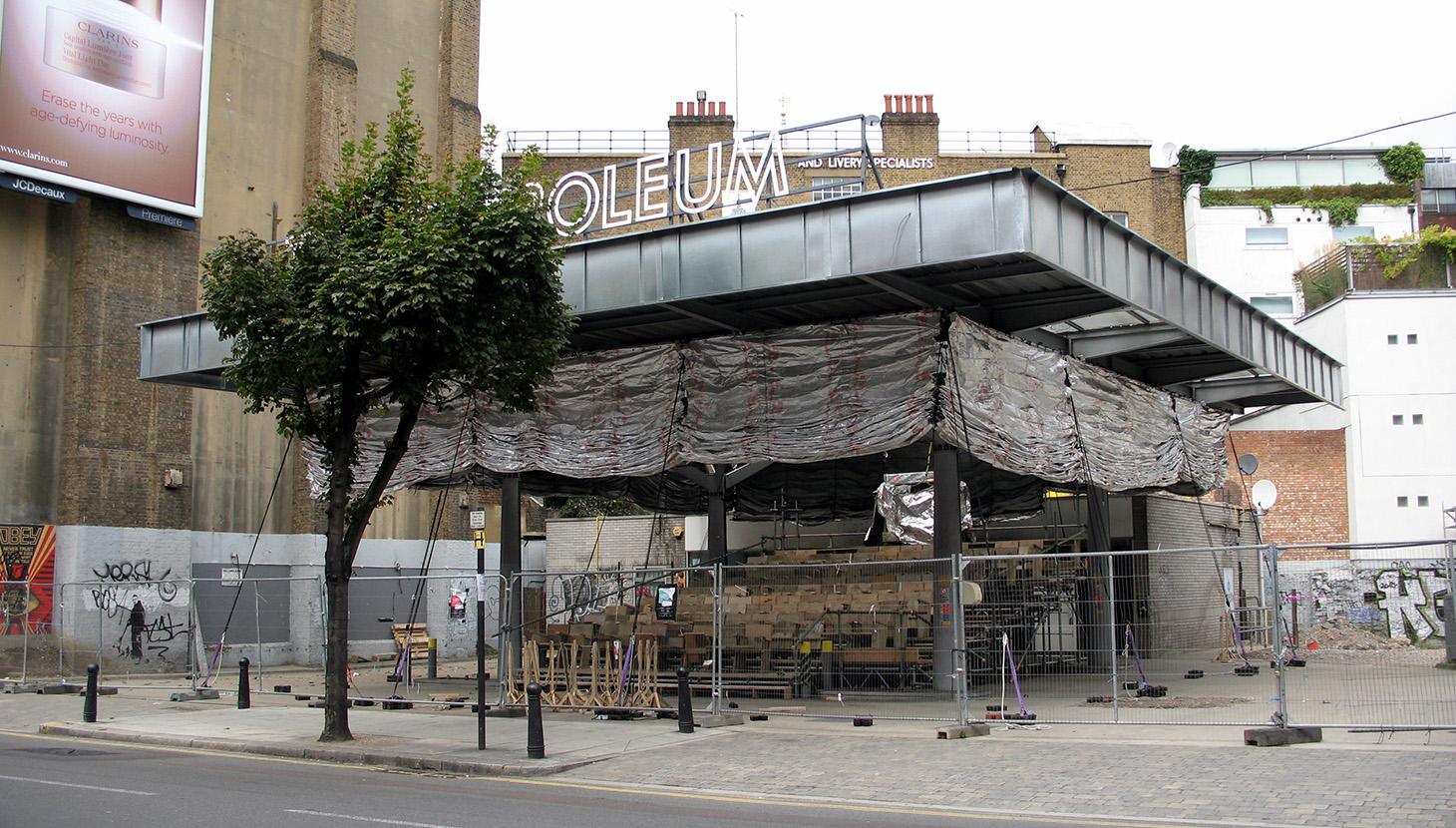 Cineroleum, Clerkenwell Road, London