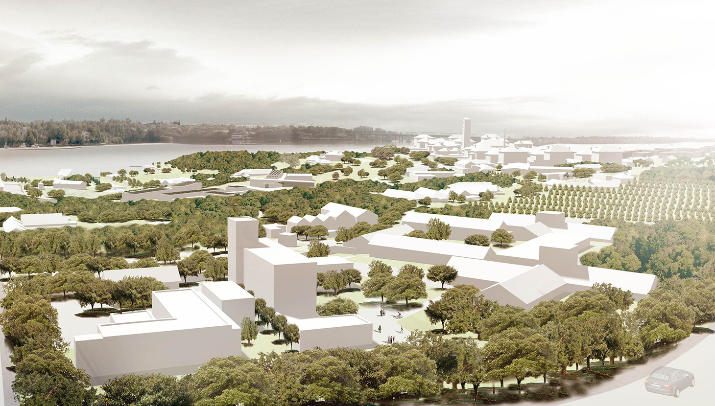 A Sydney Harbour project, Callan Park forms a major public space within Sydney's Green Grid and supports a variety of cultural institutions.