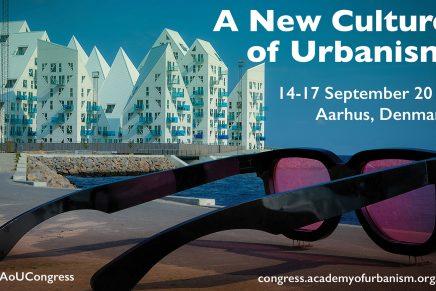 AoU Congress 2017: A New Culture of Urbanism