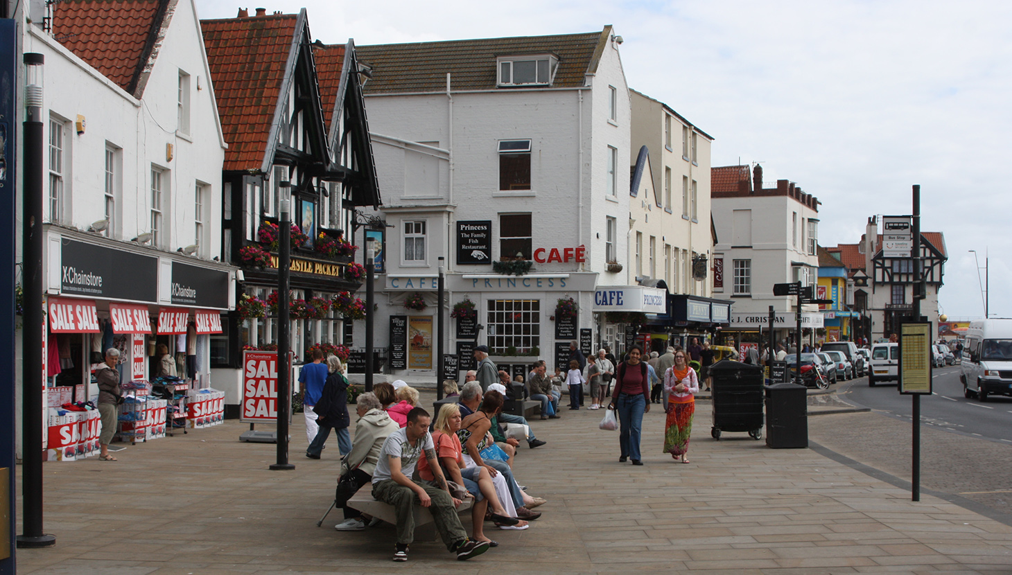 Scarborough recently announced as one of the government's 10 'social mobility hot spots'.