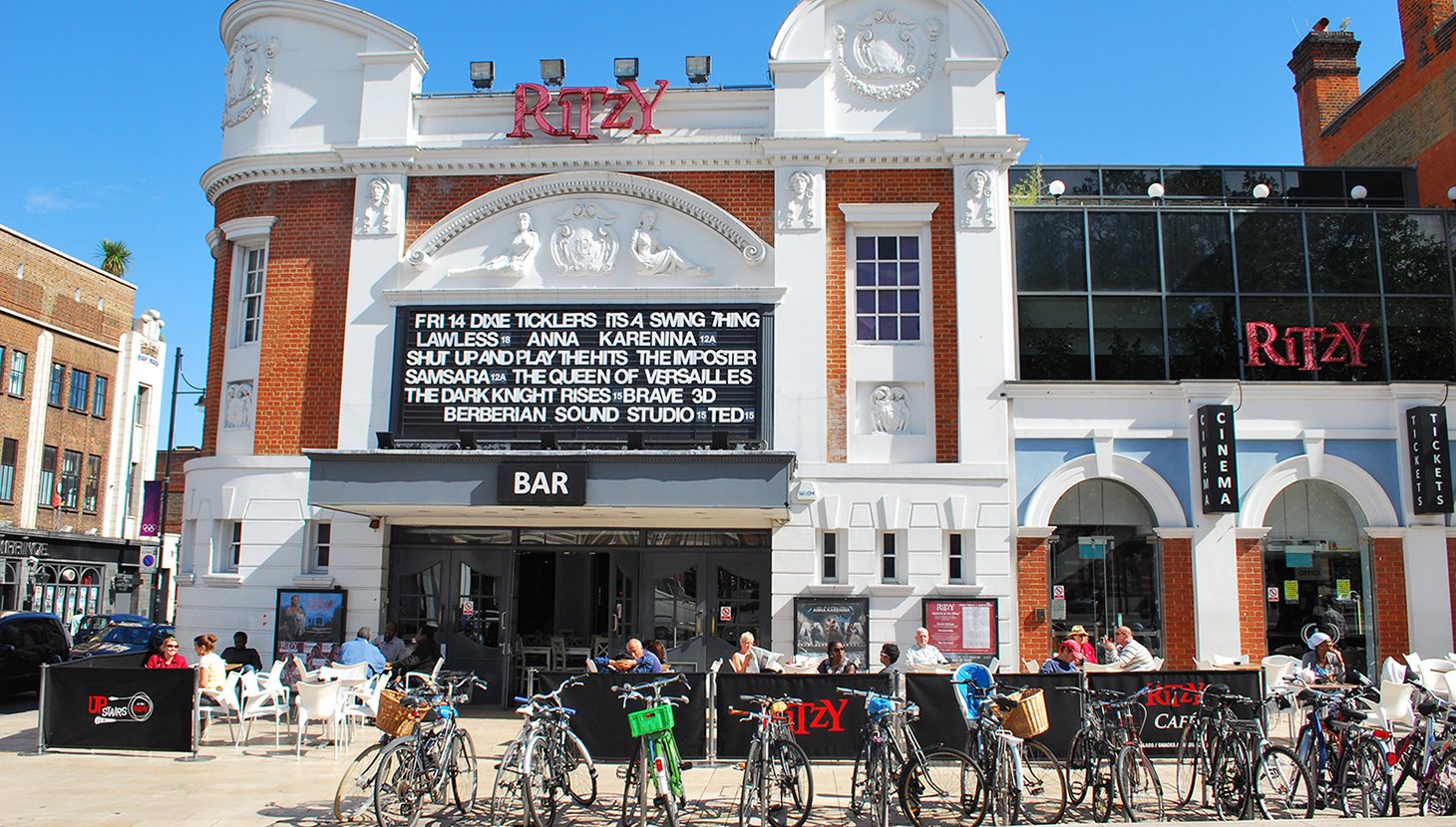 Ritzy Cinema on Windrush Square