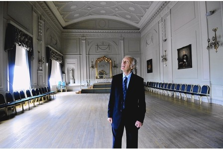 Malcolm Noble AoU in the County Room at the Essex Shire Hall