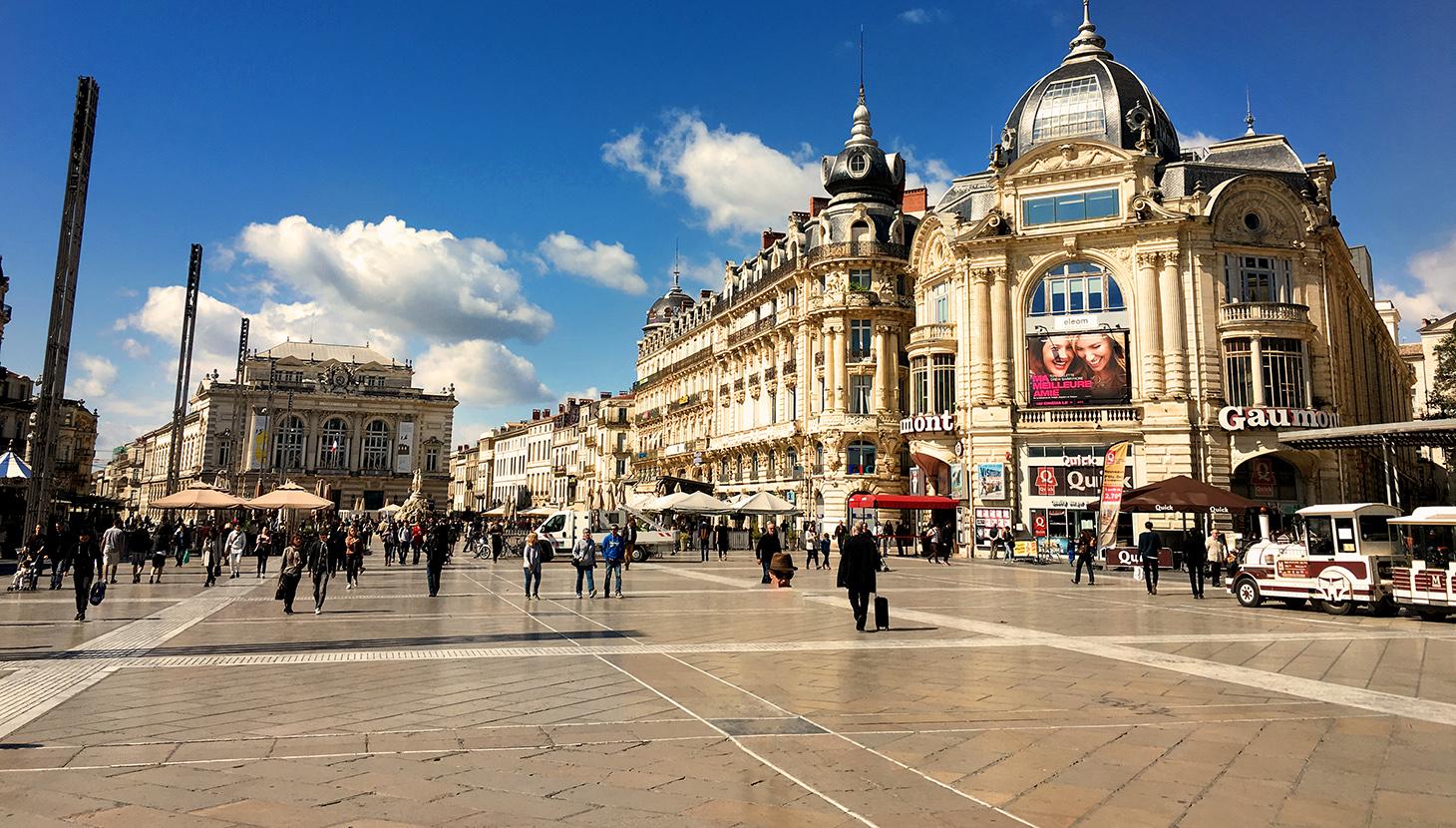 Montpellier the academy of urbanism - Piscine place de l europe montpellier ...