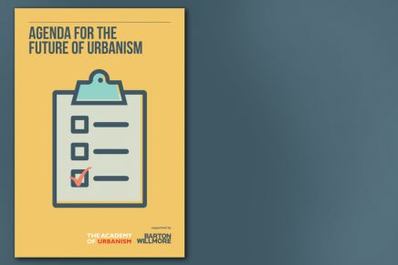 Agenda for The Future of Urbanism