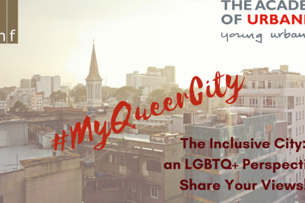 YU Event / Citymaking: voices from the LGBTQ+ community
