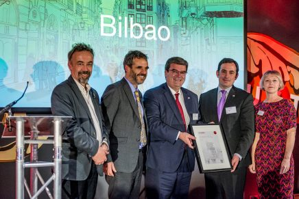 Bilbao wins European City of the Year at 2018 Urbanism Awards