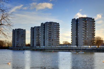 From concrete to glass: The post-war trajectory  of London's high-rise housing