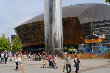 Roald Dahl Plass | Cardiff