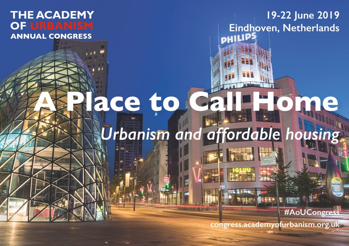 AoU Congress Eindhoven - A Place to Call Home: Urbanism and