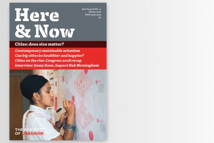 Here & Now 12: Cities – does size matter?