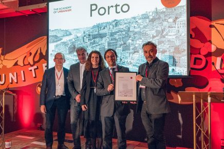 Porto named European City of the Year at 2020 Urbanism Awards
