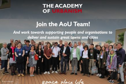 Job Opportunities at The Academy of Urbanism